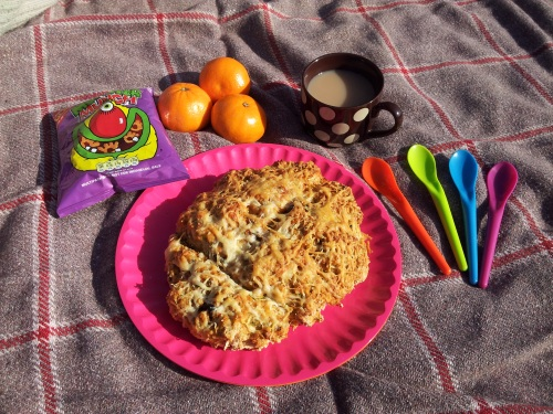 Courgette Picnic Scone